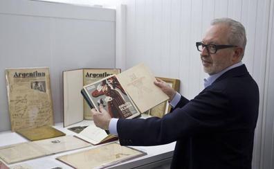 «Pensé muchas veces en abandonar pero jamás en llevarme el Archivo fuera de Cantabria»