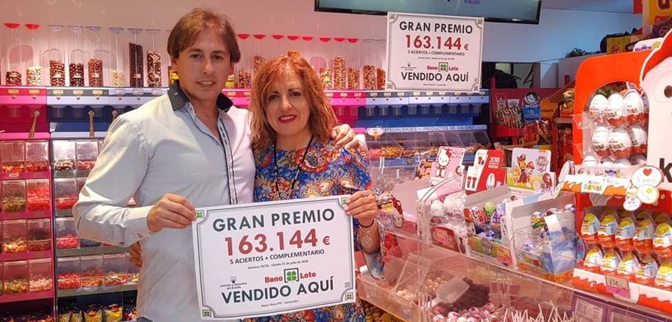Un único acertante del sorteo ayer de la Bonoloto, en Santander, gana 163.000 euros