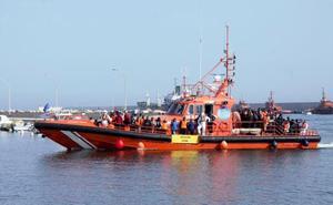 Casi mil inmigrantes rescatados frente a las costas españolas este fin de semana