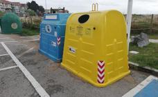 Noja busca reducir las basuras marinas fomentando el reciclaje en sus playas