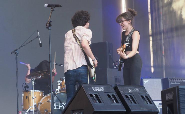 Repion, de concierto en La Campa en el Viva Pop Festival