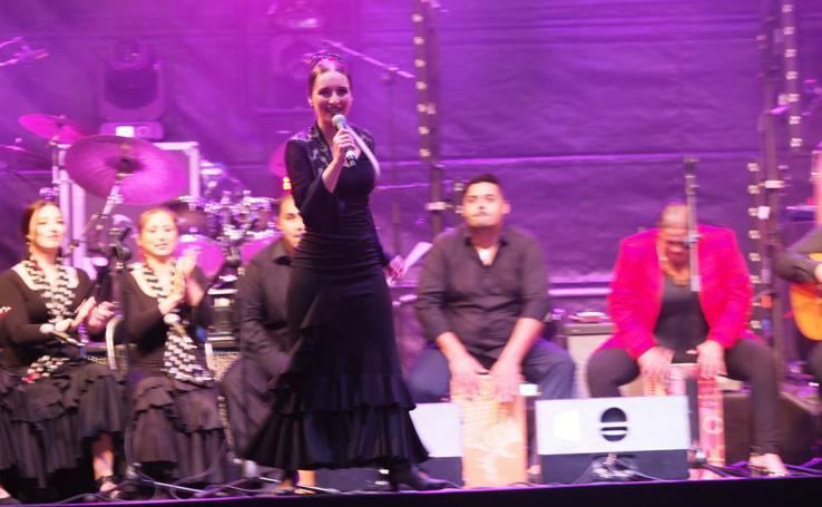 Espectáculo '100 años de Carmen Amaya' en la Porticada