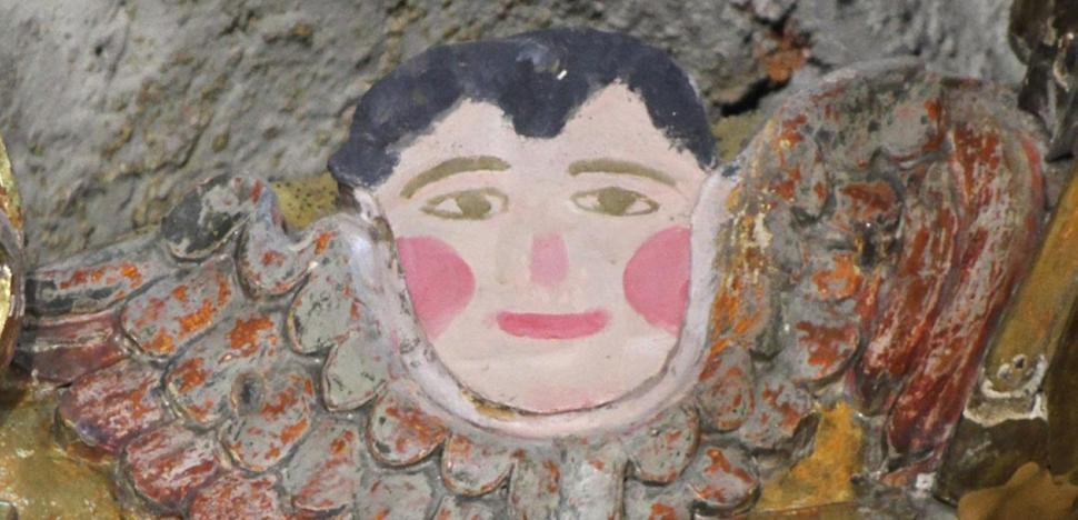 El 'eccehomo' de Reinosa sobrevivió a dos restauraciones en 1987 y en 2011