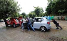 Santillana intensifica las gestiones para paliar los efectos de la riada del sábado