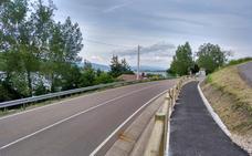 Concluye la construcción de la senda peatonal de Las Rozas de Valdearroyo