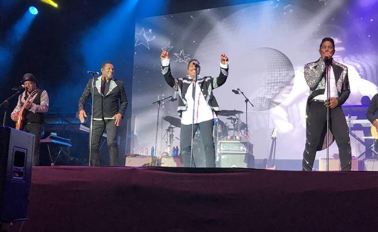 La Campa baila con el concierto de los hermanos Jackson