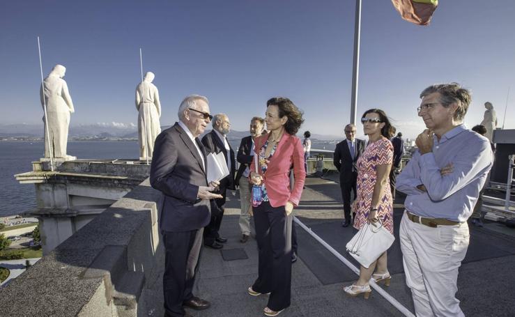 Así es el edificio que albergará la colección de arte del banco Santander