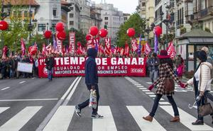 Cantabria cierra la primera mitad del año con casi dos manifestaciones al día