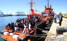 La llegada de inmigrantes a España puede superar a finales de julio la de cifra de todo 2017