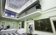 Un recorrido por la historia y el arte de la sede del Banco Santander