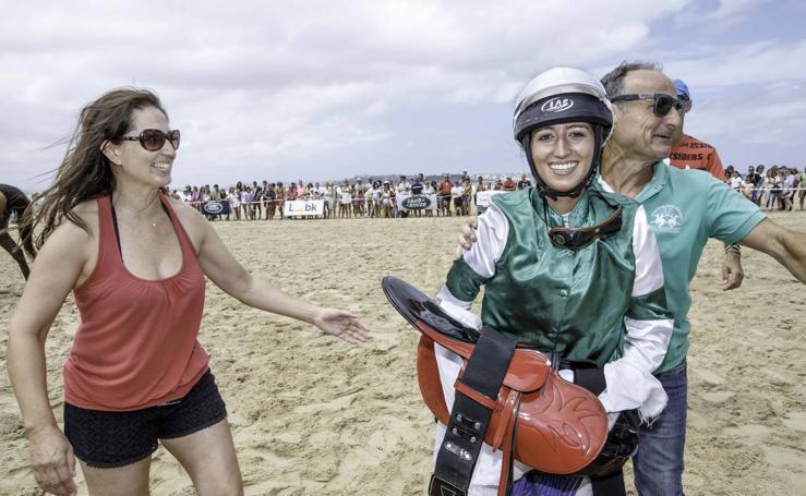 Cristina Pérez hace historia: la primera mujer que gana el Derby de Loredo