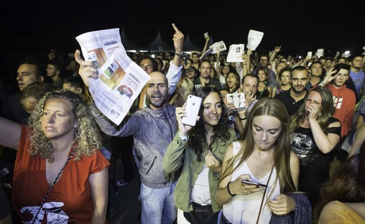 Indignación en La Campa por la cancelación del concierto de David Guetta