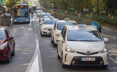 La huelga del taxi consigue un seguimiento de más de un 95% en Cantabria