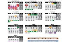 El BOC publica el calendario escolar definitivo
