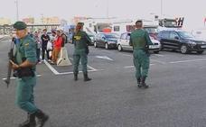 El seguimento a su pareja permitió a la Policía capturar al fugado de El Dueso