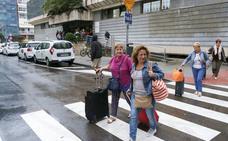 Los taxistas cántabros prolongan su huelga por tercer día consecutivo