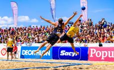 El Campeonato de España de balonmano playa toma este fin de semana la Salvé de Laredo