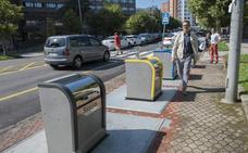 Ya pueden utilizarse los 87 contenedores soterrados renovados en El Sardinero