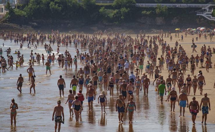 El calor se apodera de Cantabria