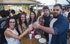 Los hosteleros destacan el «éxito» de la Feria de Día con un aumento de público