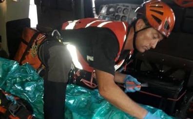 Herido un senderista en la cabeza tras caer por un monte en Anievas