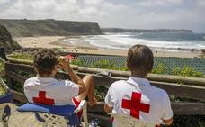 Cruz Roja pide «prudencia» a los bañistas después de 104 rescates en lo que va de verano