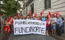 Los trabajadores de Fundinorte amenazan con plantarse en la sede de La Pasiega si el Grupo Vela no se reúne con ellos
