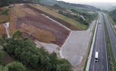 Finalizan las obras del argayo de la A-8 en Caviedes tras nueve meses de trabajos