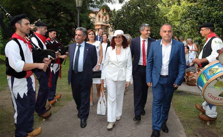 La feminista Lidia Falcón dio el pregón del Día de Cantabria