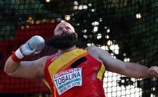 El cántabro Carlos Tobalina se ve fuera de la final de lanzamiento de peso