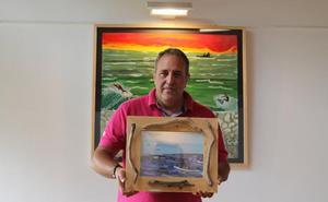 El pescador que soñaba con pintar surfistas
