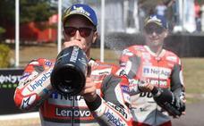 Ducati: aquí guerra y después gloria