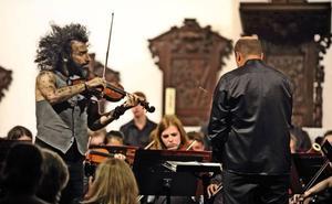 Malikian contagia su forma de entender a los clásicos en los 'Caprichos musicales'