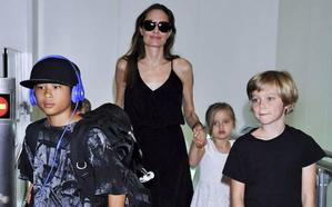Angelina Jolie denuncia que Brad Pitt no paga la manutención de sus hijos