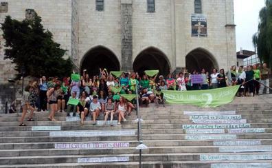 Intentan boicotear la concentración en Santander en apoyo al aborto en Argentina