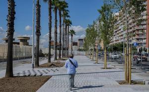 El nuevo paseo frente a la Estación Marítima se abrirá en septiembre