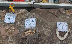 Los restos humanos hallados en Alfoz de Lloredo pueden proceder de un yacimiento arqueológico