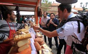 La Feria del Queso de Pesquera reunirá los días 14 y 15 de agosto a 34 productores