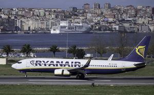 Ryanair cancela la conexión de hoy con Bélgica desde Santander por la huelga europea de pilotos