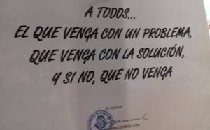El alcalde de Marina de Cudeyo pide a sus vecinos que no le lleven problemas si no tienen ya la solución