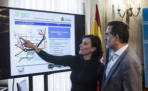 La alcaldesa responde que es la Plataforma Anti-MetroTUS la que no quiere escucharla