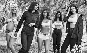 Las hermanas Kardashian-Jenner, expertas en retoques de Photoshop