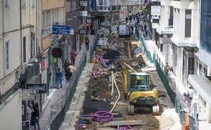 Finalizan las obras en la calle Miguel Artigas de Santander