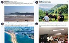 Los influyentes tuits de Ana Botín