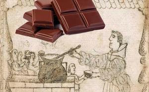 El primer postre con chocolate