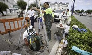 La limpieza en el tanque de El Sardinero soluciona el vertido de aguas fecales
