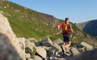 A zancadas para cruzar los Pirineos
