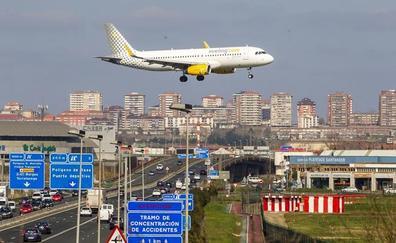 Las obras del nuevo enlace con el aeropuerto obligarán a colocar pantallas antirruido para los edificios