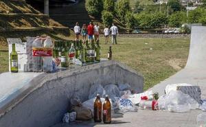 Torrelavega contrata seguridad privada para evitar el 'botellón' en nuevo parque de Manuel Barquín