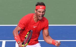 Nadal, 80 títulos y credenciales para el US Open